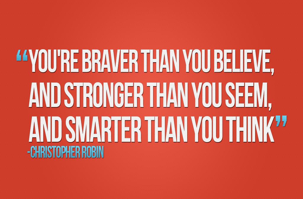 Better – Stronger – Wiser!