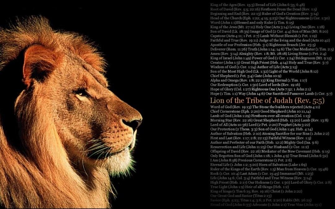TREMBLE AT HIS WORD